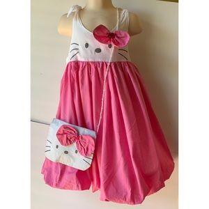 Hello Kitty Dress with Matching Purse
